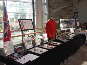 CSMMI Exhibit at The Great War Commemorated event