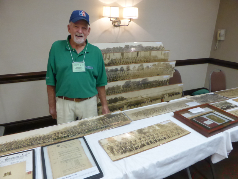 Bob was on hand to explain the details of his exhibit